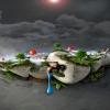 3D Garden 3D Graphics 360x640