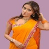 Aarti Chabria in Yello Sari Bollywood 400x300