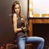 Angelina Jolie With Cobra T-Mobile 640x480