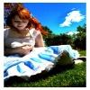 beautiful girl in garden Nature 320x480