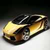 Black and Yellow Car 320x240 320x240