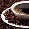 Black Coffee with beans HD 360x640