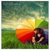 colored umbrella HD 360x640