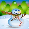 Cute christmas snowman Holiday 320x480