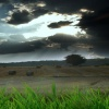 dark clouds with lightning Nature 360x640