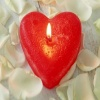 desing war heart candle Others 400x300