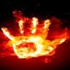 fire hand HD 360x640