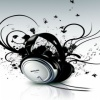 headphones wallpapers Music 240x320