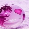 heart globe 240x320 240x320