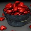 love heart 3D Graphics 240x320
