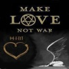 MAke Love not war Holiday 176x220