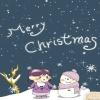 merry christmas couple Holiday 320x480