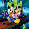 Mickey and Minnie Mouse 320x240 320x240