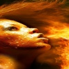 mouth fire flames HD 360x640