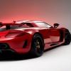 Red Racing car Cars 240x320