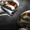 robot cartoon Wallpaper 3D Graphics 176x220