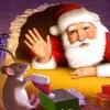 santa claus wallpaper Holiday 320x480