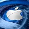 silver apple logo Arts 320x480