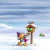 snowman game Holiday 320x480