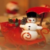 snowman Holiday 320x480