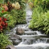 stair waterfall Nature 400x300