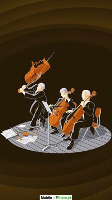 violin player Music 360x640