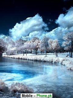 Snow Beautiful Scenery Mobile Wallpaper Details