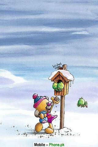 snowman_game_holiday_mobile_wallpaper.jpg
