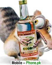 squirrel_with_drink_animals_mobile_wallpaper.jpg