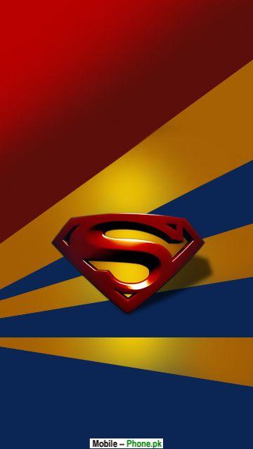 Super Man Logo Pics Mobile Wallpaper Details