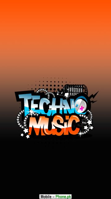 wallpapers hello kitty23. Techno music Wallpaper for