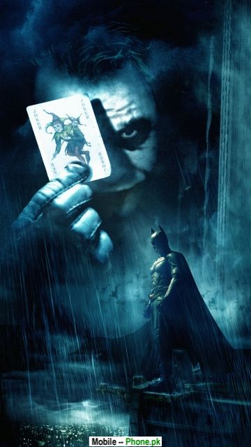 The Dark Knight Joker Card Wallpapers Mobile Pics