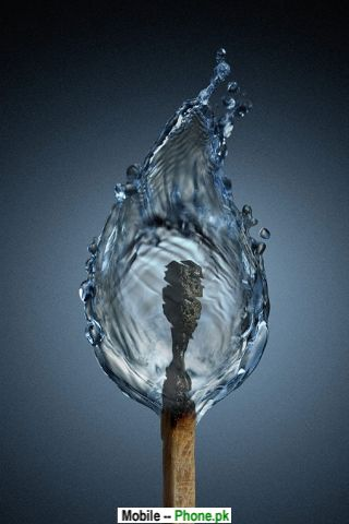 flame wallpaper. Water flame Wallpaper for