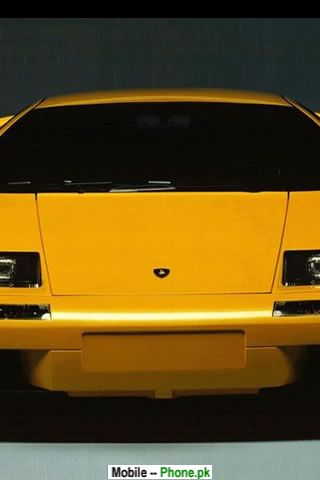 Yellow Sports Car Wallpapers Mobile Pics